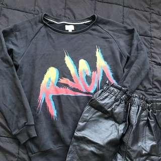 RVCA Black Jumper