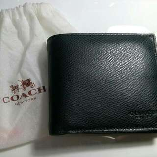 Coach 100% Original Leather Wallet