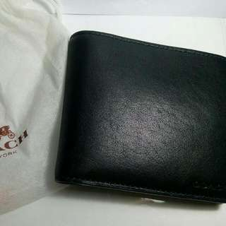 Coach Leather Wallet 100% Original