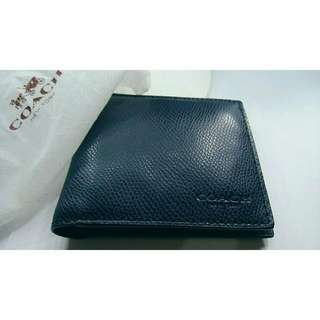 Coach Original Wallet 100% Original Navy Blue