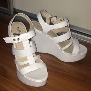 Betts White Wedges