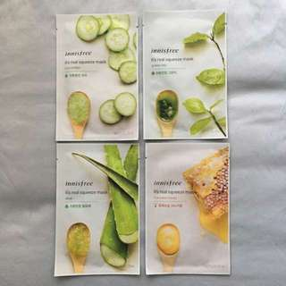 Innisfree Facial Sheet Masks