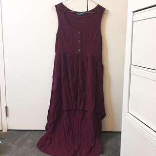 Evil Twin Purple Dress