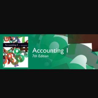 Accounting Text Book