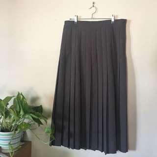 Vintage Midi Length Skirt
