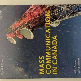 Mass Communication Canada Eighth Edition