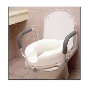 "6"" Raised Toilet Seat with Handles"