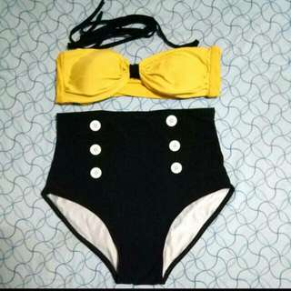 High Waisted Two Piece
