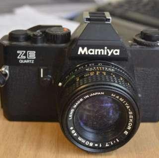 Mamiya ZE Quartz Sekor E Camera