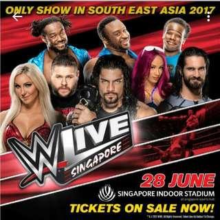 WWE TICKETS 2017!!❤❤