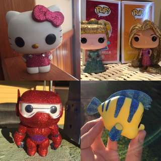 Glitter Custom Pop Vinyls