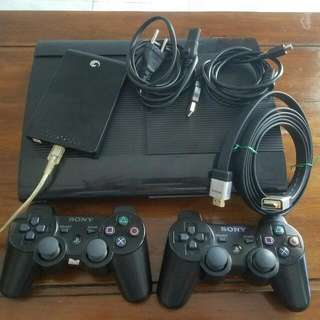 PS 3 Super Slim 160 With HDD 250gb