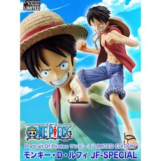 One Piece P.O.P Limited Edition Jump Festa Special Monkey D Luffy New