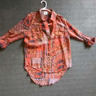 Shirt Top from Temt. Size 8.
