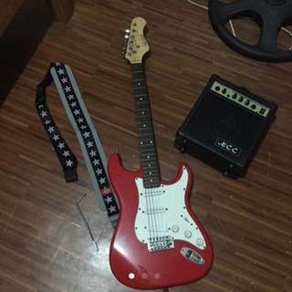 Mac Smith Electric Guitar AMPLIFIER NOT INCLUDED