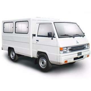 For Rent L300 FB Van Exceed l Dual Aircon