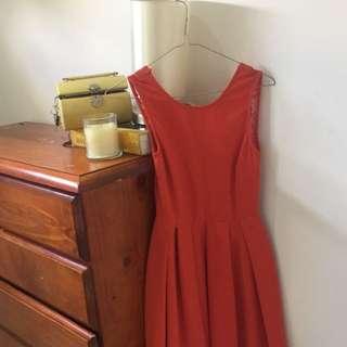 Orange Size 6/8 Dress