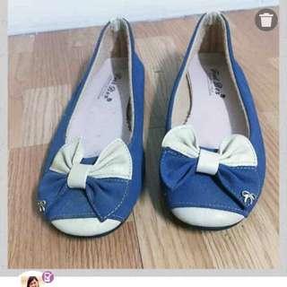 23.5娃娃鞋