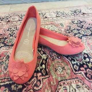 Wonder Comfort Pink Flats