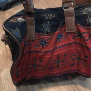 Canvass Doctors Bag with Sling