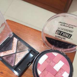 Highlighter And Eye Pallets MAYBELLINE