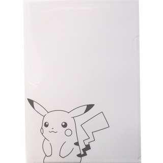 Pokémon Center Pikachu A4 Clear File