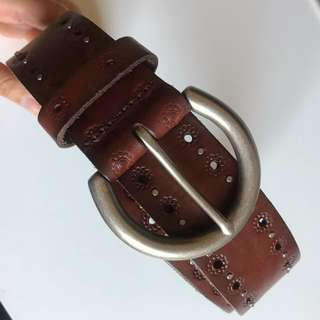 Fossil Leather Belt Size S