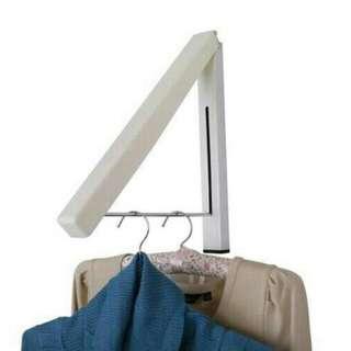 Gantungan / Jemuran Baju Lipat Dalam Ruangan Praktis Irit Tempat