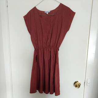 Cotton On Boat Neck Dress