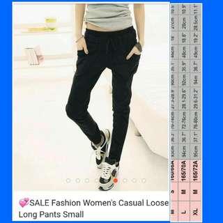 Fashion woman loose long pants