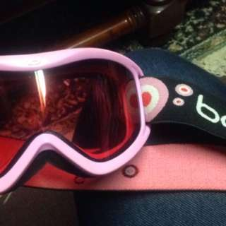 Pink Bolle Snow Goggles