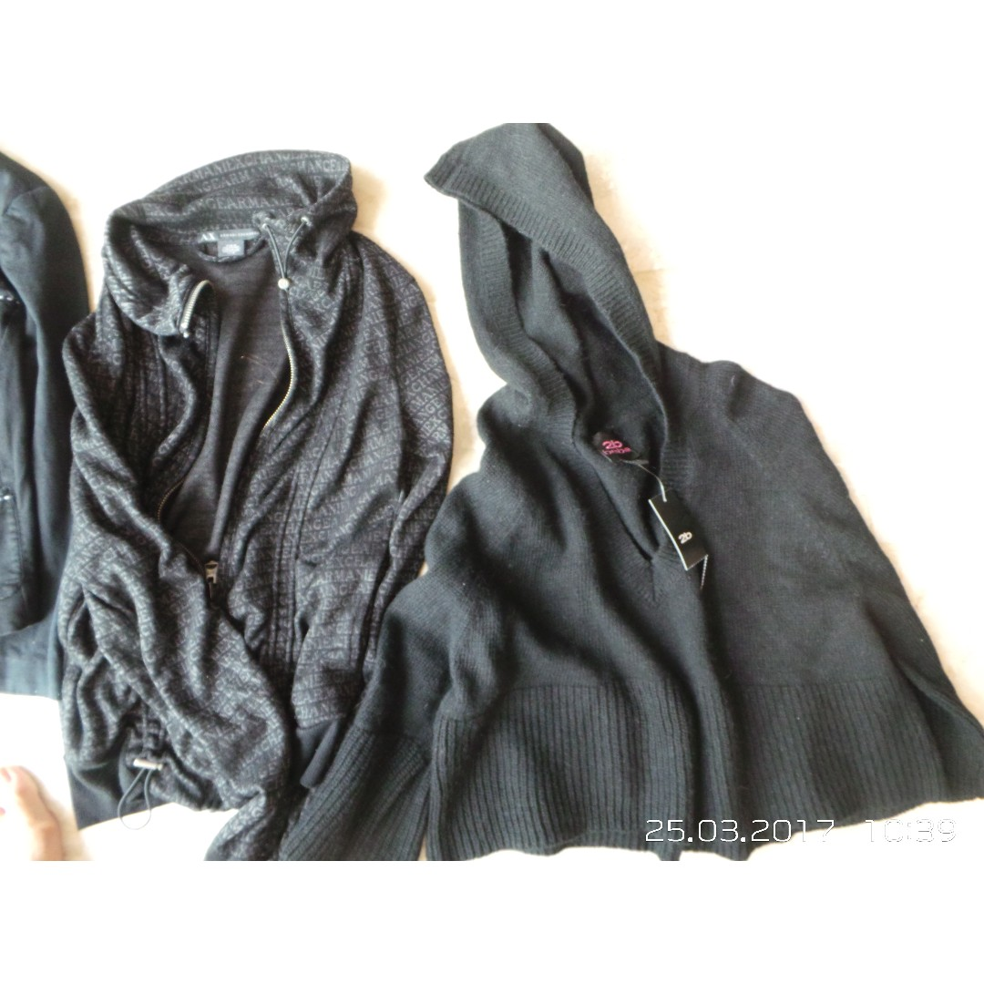 Mixed Items & Lots Lot Of 2 Victoria Secret Pink Xs Jacket And Armani Exchange Jeans Size 0 Sale Price