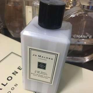 Jo Malone青檸羅勒葉與柑橘潤膚乳100ml💓