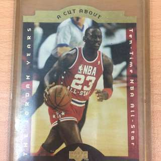 NBA Card Michael Jordan