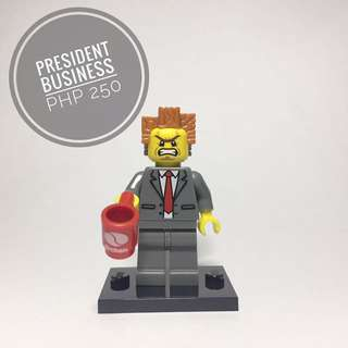 Lego Minifigure President Business