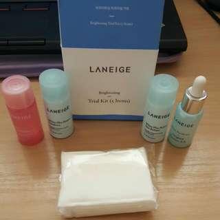 Laneige Brightening Trial Kit