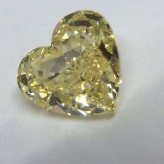 Yellow Diamond 💎0.50 Ct. Heart