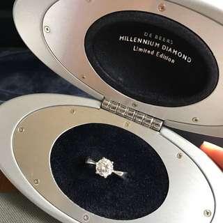 1.02克拉 GIA證書 DE BEERS MILLENNIUM DIAMON Limited Edition