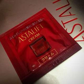 ASTALIFT CREAM SAMPLE SIZE