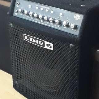 Line 6 bass guitar modelling combo amplifier