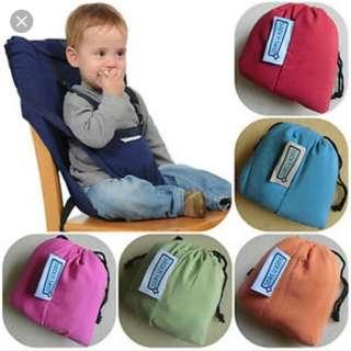 ❤️Hi小舖❤️德國SACK'N SEAT2014 2代 增強版便攜式嬰兒餐椅帶