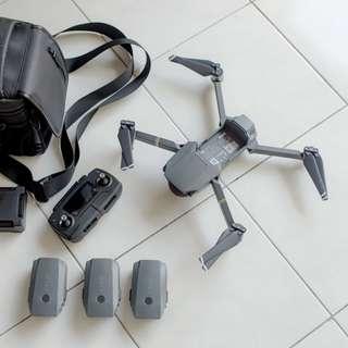 DJI Mavic Pro Fly More Combo 3 Batteries + Shoulder Bag