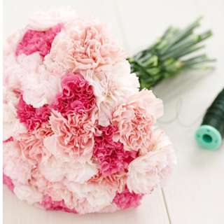 bouquet of mix tones carnations for mums fresh flowers - Denkooh