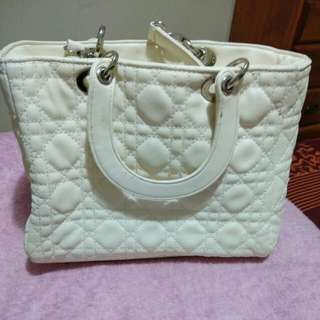 White Cute Purse