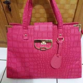 Oriflame Pink Bag