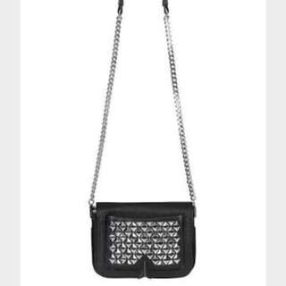 Sass And Bide Leather Shoulder Bag