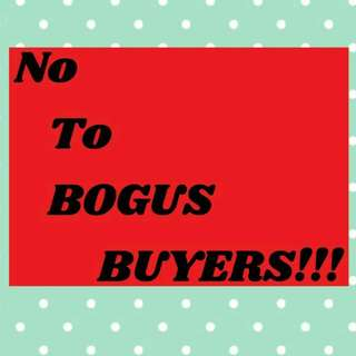 No To Bogus Buyer