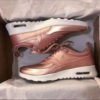 Brand New Nike Air Max Thea (Rose Gold)