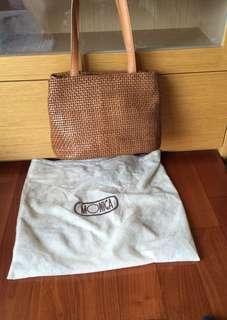 used vintage leather bag