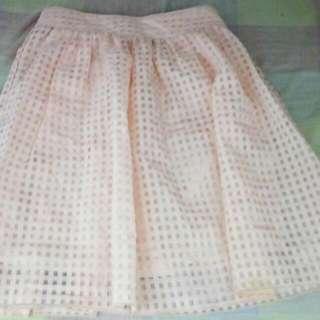 Sale !!! Light Orange Skirt